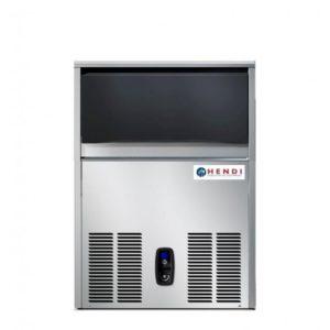 Výrobník ledu 54kg24h, chlazený vodou HENDI, 271940 - 1 příkon: 0.63 kW napětí: 230 V materiál: nerezová ocel objem zasobníku: 21 kg typ chlazení: vodou délka: 500 mm šířka: 580 mm výška: 800 mm