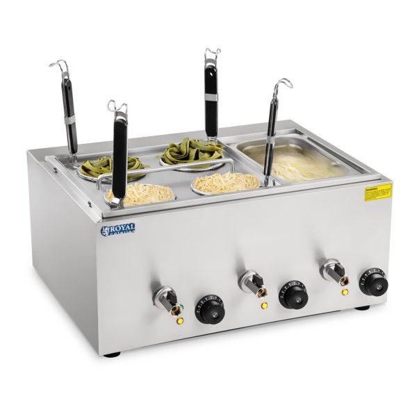 Vařič těstovin se 4 koši a 13 gastronádobou - 1