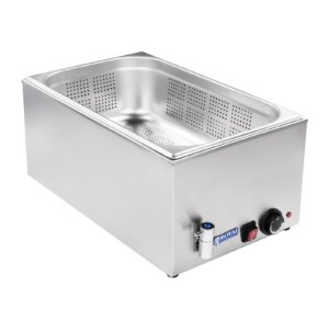 Vodní lázeň - 11 - děrovaná nádoba s výpustným kohoutem - 1