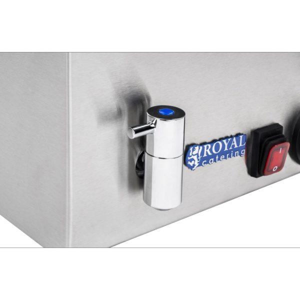 Vodní lázeň - bez nádob - výpustný kohout -2