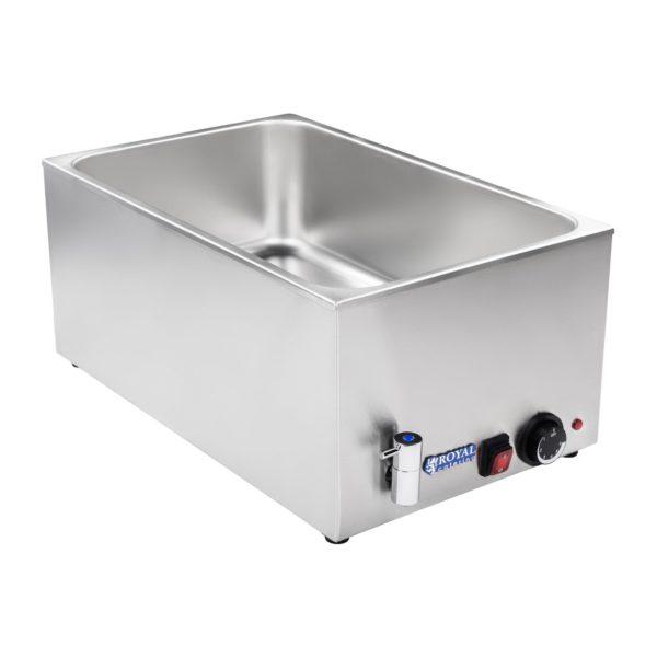 Vodní lázeň - gastronádoba - 11 - výpustný kohout - 2