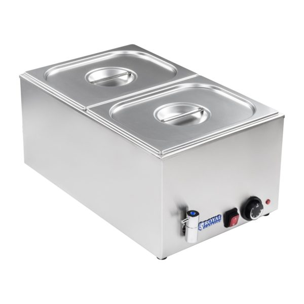 Vodní lázeň - gastronádoba - 12 - výpustný kohout - 1