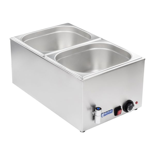 Vodní lázeň - gastronádoba - 12 - výpustný kohout - 2