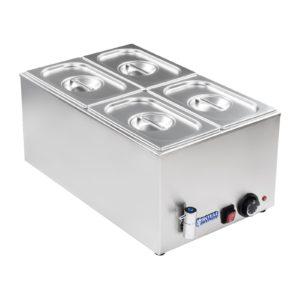 Vodní lázeň - gastronádoba - 14 - výpustný kohout - 1