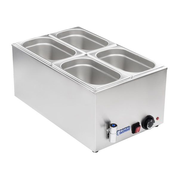 Vodní lázeň - gastronádoba - 14 - výpustný kohout - 2