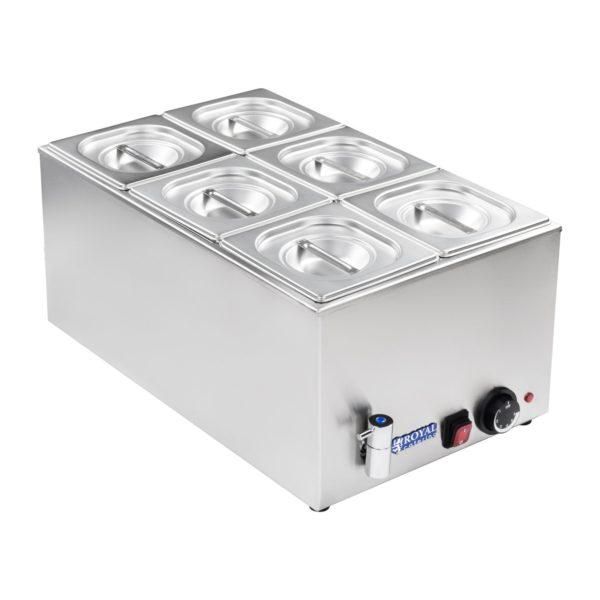 Vodní lázeň - gastronádoba - 16 - výpustný kohout - 1