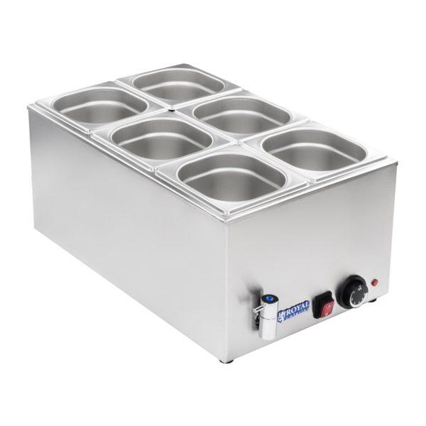 Vodní lázeň - gastronádoba - 16 - výpustný kohout - 2