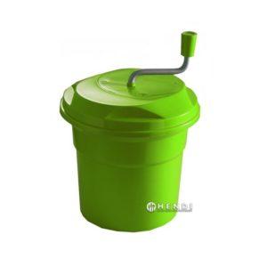 Odstředivka na salát 12L HENDI 222553 objem 12l ideální na osušení velkého množství zeleniny a ovoce po umytí možné mýt v myčkách nádobí.