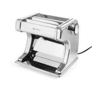 Elektrický stroj na výrobu těstovin - HENDI 224847 ideální k přípravě čerstvých těstovin max. tloušťka 170 m bezpečnostní spínač v krytu knoflík pro nastavení tloušťky těsta v 7 krocích od 0,2 do 2,5 mm výkon: 70 W napětí : 230 V