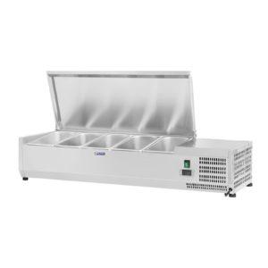 Chladicí nástavba- 120 x 33 cm - 5 GN nádob 14 - 1
