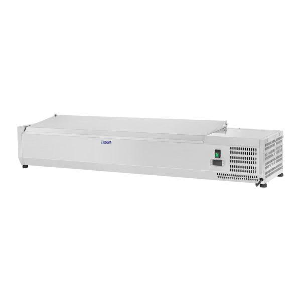Chladicí nástavba- 140 x 33 cm - 6 GN nádob 14 - 2