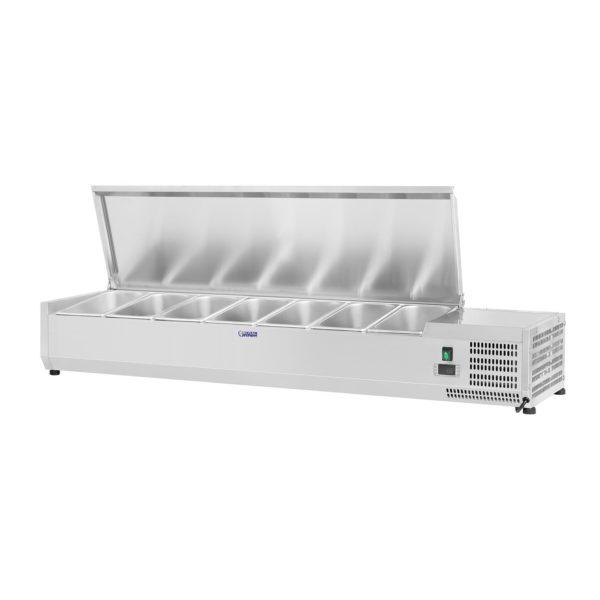 Chladicí nástavba- - 150 x 33 cm - 7 GN nádob 14 - 1