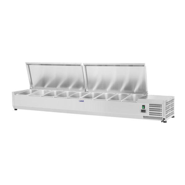 Chladicí nástavba- 180 x 33 cm - 9 GN nádob 14 - 1