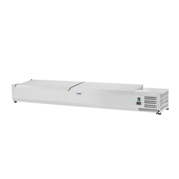 Chladicí nástavba- 180 x 33 cm - 9 GN nádob 14 - 2