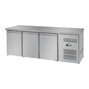 Chladicí stůl - 339 l - 3 dveře - 1