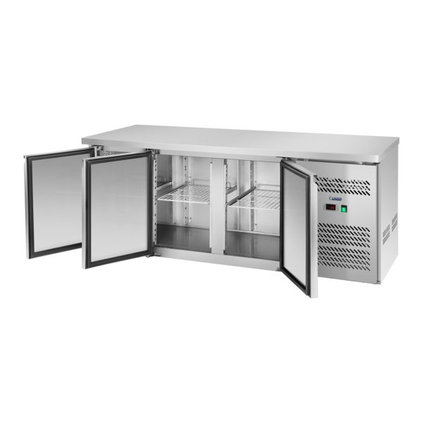 Chladicí stůl - 339 l - 3 dveře - 3
