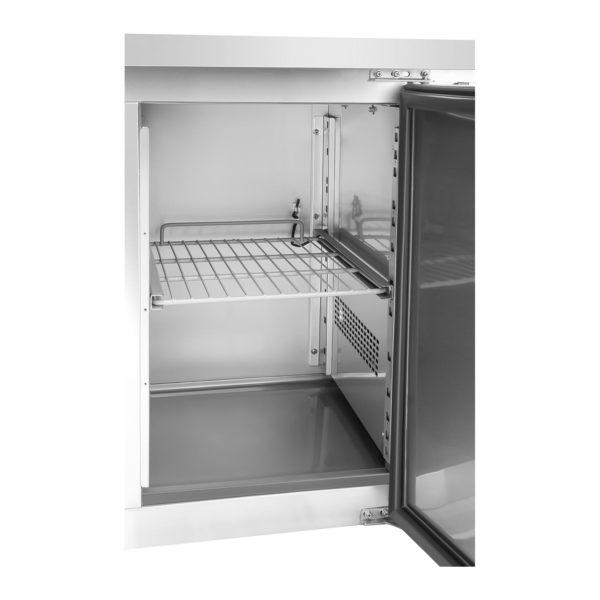 Chladicí stůl - 339 l - 3 dveře - 4