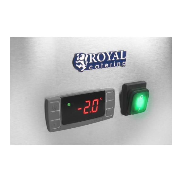Chladicí stůl - 339 l - 3 dveře - 6