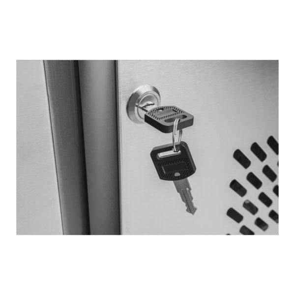 Chladicí stůl - 403 l - 1 dveře - 4 zásuvky - 6