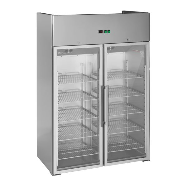 Gastro chladnička se dvěma prosklenými dveřmi - 984 l - 1