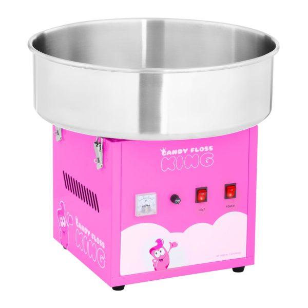 Stroj na cukrovou vatu - 52 cm - 1 200 W - růžový 1