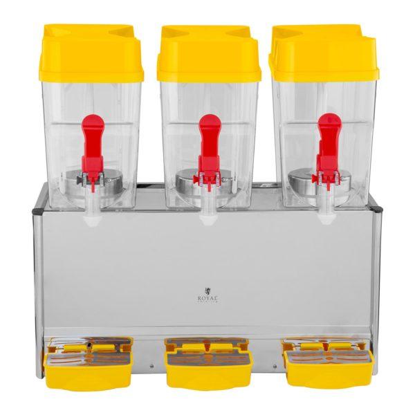 Vířič chlazených nápojů - 3 x 18 litrů - 2