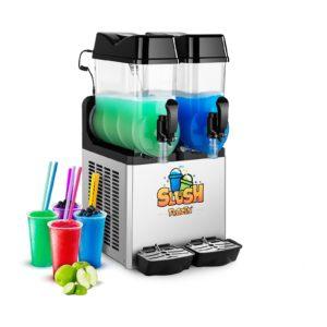 Výrobník ledové tříště - 2 x 12 litrů - LED - 1