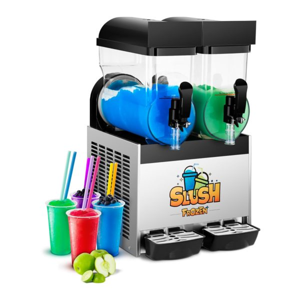 Výrobník ledové tříště - 2 x 15 litrů - 1