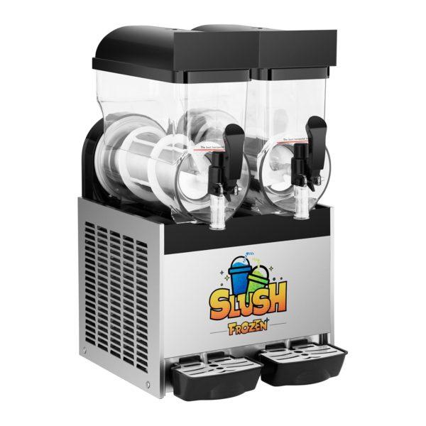 Výrobník ledové tříště - 2 x 15 litrů - 2