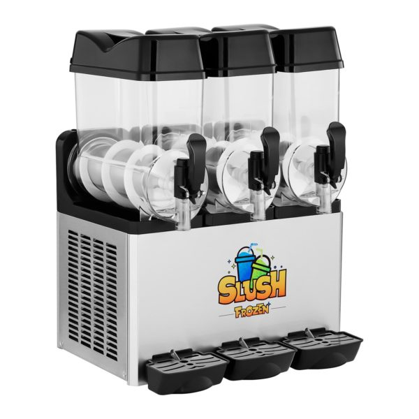 Výrobník ledové tříště - 3 x 12 litrů - LED - 2