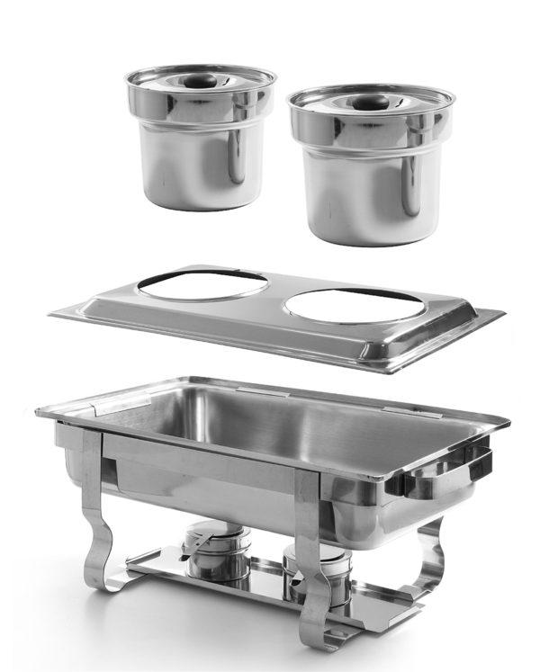 Vložka do adaptéru 470930 pro chafingy | HENDI 470909. Ideální pro bufet a catering. Vhodná pro všechny chafingy GN 1/1.