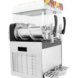 Výrobník ledové tříště – 2 x 15 litrů | CookPro 610020001, vyroben z nerezavějící oceli AISI 304, Výkon: 0.7 kW. Napětí: 230V.