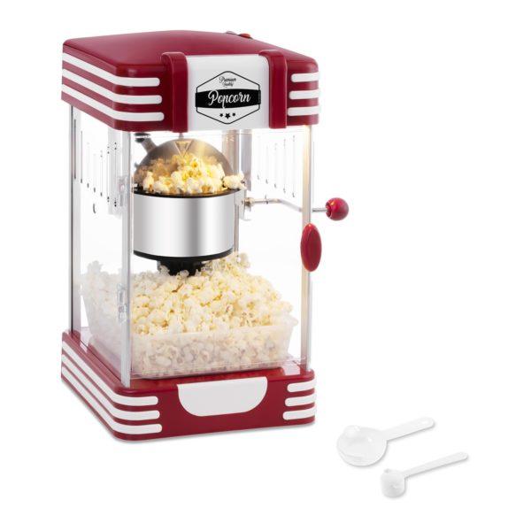 Mini retro popcorn stroj model BCPK-300-WR