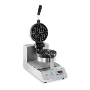 Profesionální vaflovač - LED - 1300 W - rotační model RCWM-1300-RE