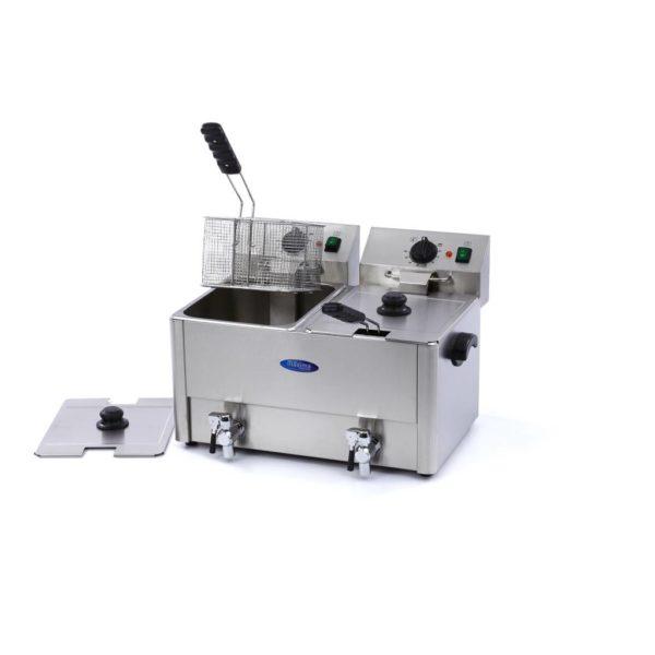 Maxima Elektrická fritéza s kohoutkem - 2 x 8 l | 09300416