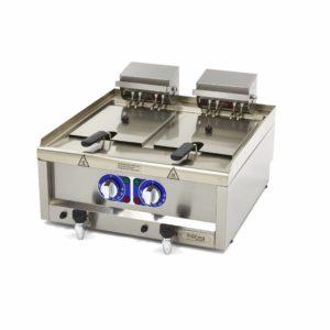 Maxima Elektrická fritéza s kohoutkem - komerční - 2 x 10 l | 09391650