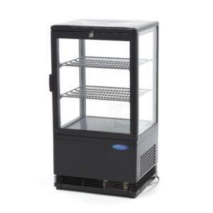 Maxima chladící vitrína s displejem - 58 l - černá | 09400801