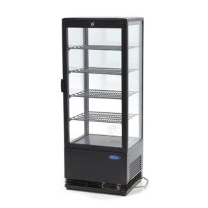 Maxima chladící vitrína s displejem - 98 l - černá | 09400811