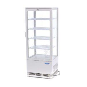 Maxima chladící vitrína s displejem - 98 l - bíla | 09400810