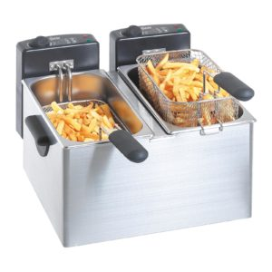 "Dvojitá fritéza ""MINI III"" | Bartscher A165112"