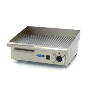 Elektrická grilovací deska - 55cm - 3kW - rýhovaná | MAXIMA 09300070