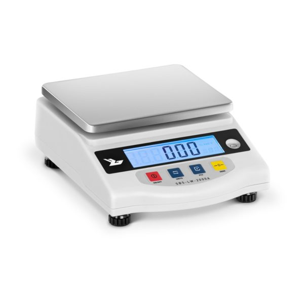 Přesné váhy - 2000 g / 0,01 g - LCD - SBS-LW-2000A