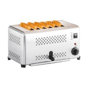 Profesionální toastovač se 6 otvory | RCET-6E