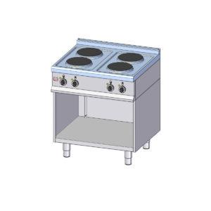Elektrické varidlo s podstavcem - 4 plotny VE-740 A