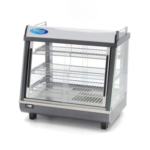 Ohřevná vitrína - 96 l | Maxima 09400785 je profesionální zařízení, které slouží k udržování sendvičů nebo občerstvení v optimální teplotě.