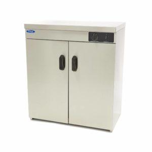 Ohřívač talířů - 120 ks | Maxima 09362020 je robustní a snadno ovladatelný ohřívač talířů, který je vybaven 2 dveřmi vpředu.