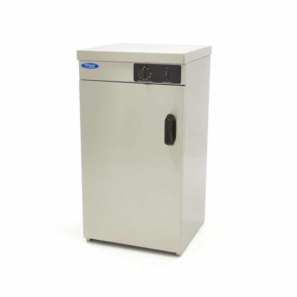 Ohřívač talířů - 60 ks   Maxima 09362015 je robustní a snadno ovladatelný ohřívač talířů, který je vybaven 1 dveřmi vpředu.
