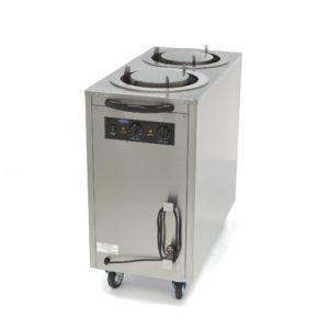 Ohřívač talířů - 80 ks - pr. 30 cm | Maxima 09362005 je nerezový ohřívač talířů, který je vhodný pro 80 ks talířů do 30 cm.