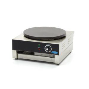 Plotna na palačinky - 400 mm | model: Maxima 09300559 je profesionální deska na výrobu palačinek, která má k dispozici variabilní termostat 0 ° C až 300 ° C.