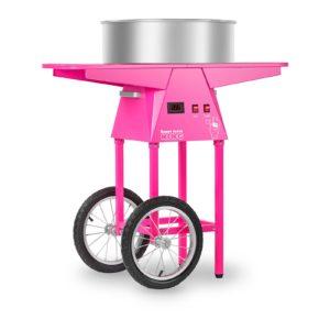 Stroj na cukrovou vatu s vozíkem - 52 cm RCZC-1030-W